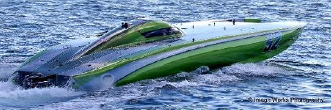 2014 MYSTIC POWERBOATS 52 Race Boat