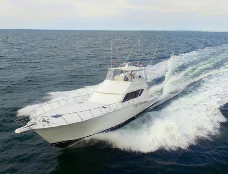 1999 Hatteras Sportfish Convertible Profile 1