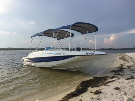 2006 Bayliner International Deck Boat 217