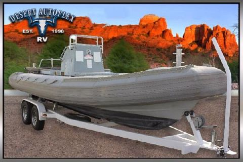 2002 Willard Marine Inflatable Navy Boat [BARGAIN CORRAL UNIT]