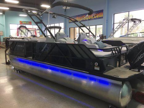 2017 Crest Pontoon Boats Caliber 230 SLR2