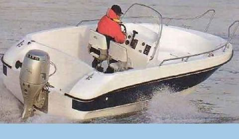 2016 Allmand 19' Center Console DX Open Fisherman