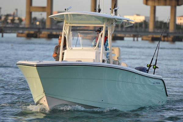 2017 Cobia Boats 261 Center Console Manufacturer Provided Image
