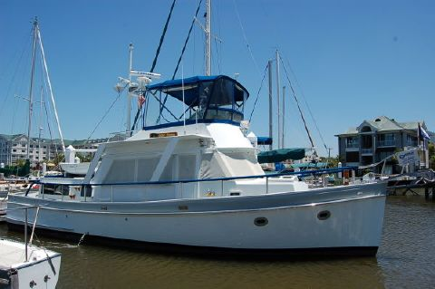 1982 Monk Custom Trawler