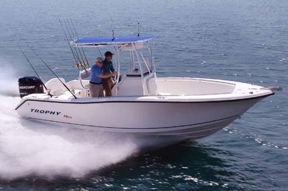 2011 Trophy 2203 Center Console Manufacturer Provided Image