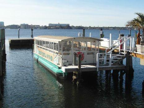 2006 Trident 44 Passenger Tour Boat 2006 Trident 4512 Touring Pontoon Boat