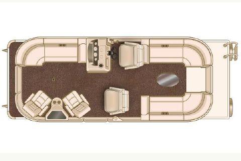 2015 Sylvan Mirage Cruise 8524 LZ Port LE Manufacturer Provided Image
