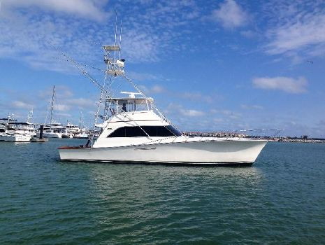 1987 Ocean Yachts Super Sport Starboard Profile