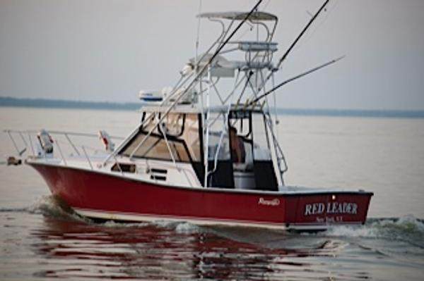 1990 rampage 31 31 foot 1990 fresh water fishing boat in for Fishing boats ny