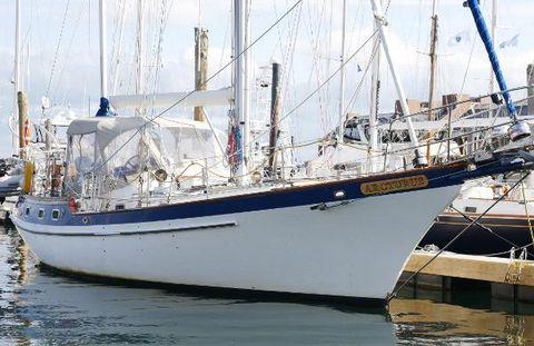 1986 Vagabond Blue Water Westwind 42 offshore
