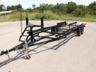 2017 Hustler Trailers 22' or 24' tandem axle Pontoon trailers
