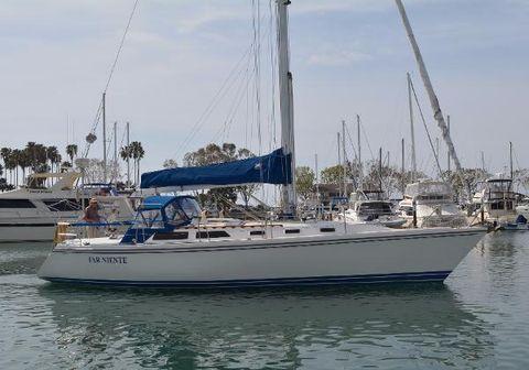 1989 Catalina 42 Mark 1 Starboard Profile