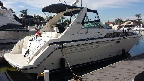 1998 Bayliner 3685 Avanti Sunbridge Starboard Side Profile