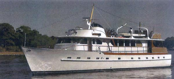 1964 Broward 76 Motoryacht