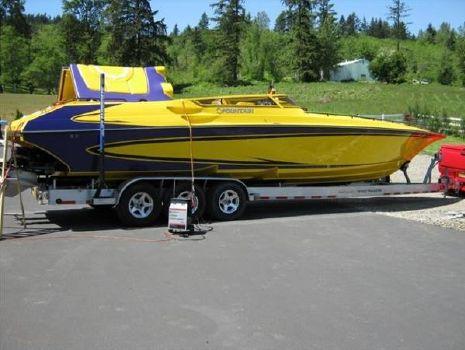 2007 Fountain Sport Boat 38 Lightning Dual I/O SS ...