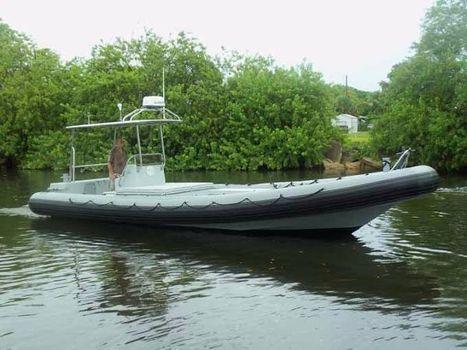 1991 HBI Boats  HBI-30 MIL, USCG Cert RIB PROFILE