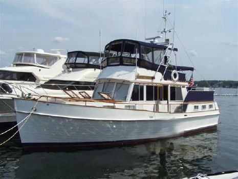 1981 Grand Banks 42 Three Stateroom Motoryacht Profile