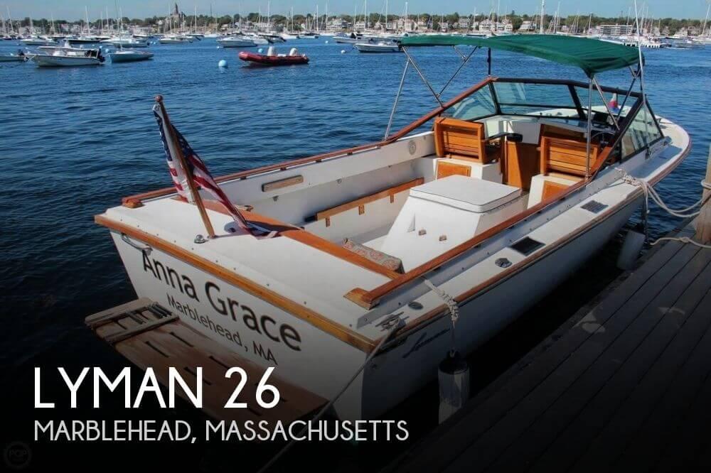 1978 Lyman 26 26 Foot 1978 Motor Boat In Marblehead Ma