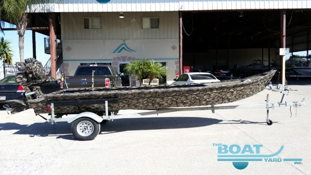 2013 Custom 19' Mud Boat