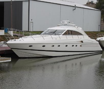 2001 Viking Sport Cruisers V65 Express  Port Side View
