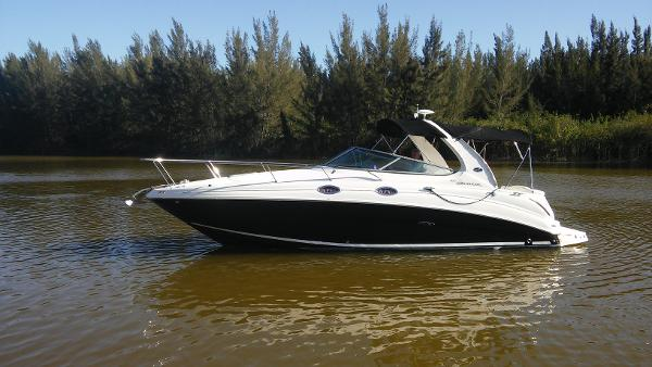 2006 Sea Ray 280 Sundancer 28' Sea Ray port profile