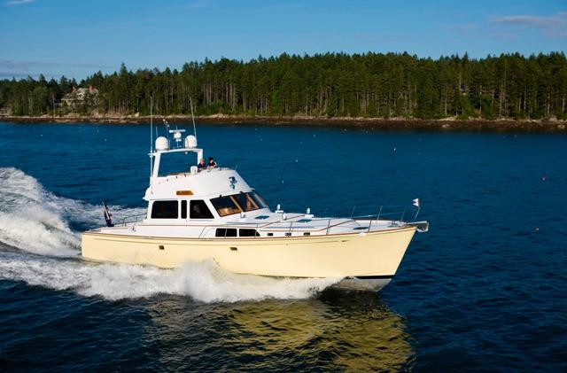 2008 Lyman-Morse Flybridge Cruiser