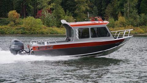 2016 North River 24' Seahawk HT