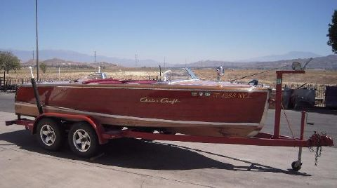 1948 Chris-Craft deluxe Runabout