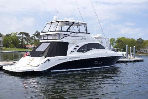 2008 Sea Ray 58 Sedan Bridge