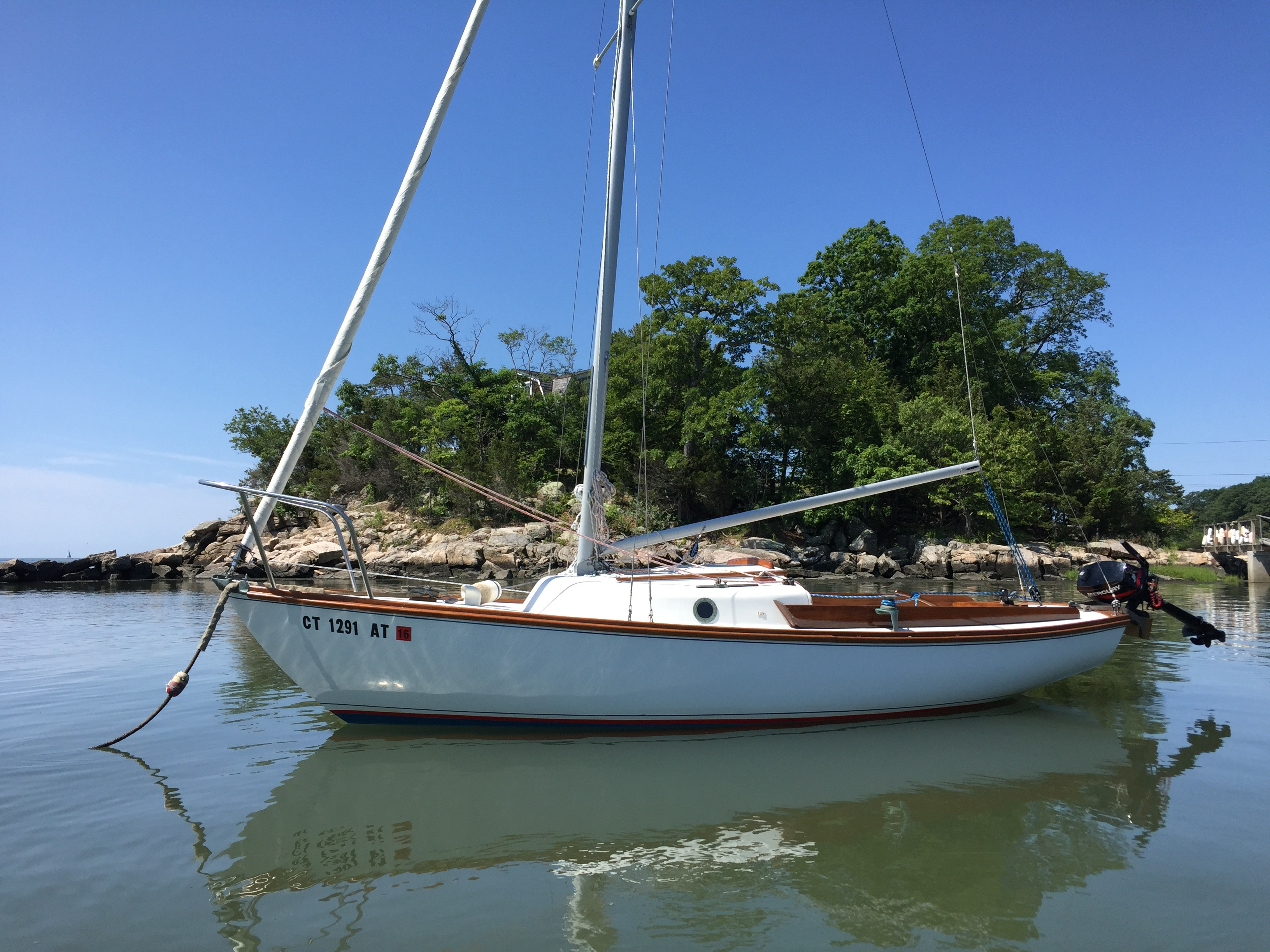 Check out this 1974 CAPE DORY Alberg Typhoon on Boattrader com
