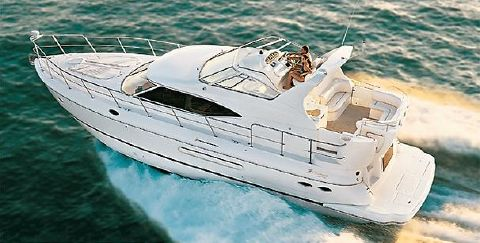 2000 Cruisers 4450 Express Manufacturer Provided Image: 4450 Express Motoryacht
