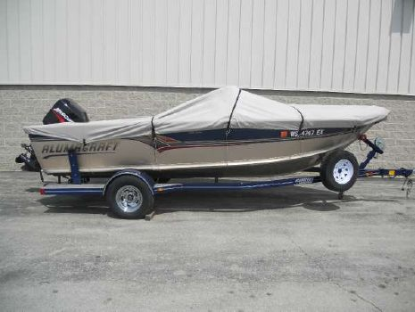 2001 Alumacraft 185 Trophy Elite
