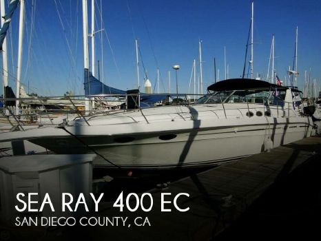 1994 Sea Ray 400 Express Cruiser 1994 Sea Ray 400 EC for sale in San Diego, CA