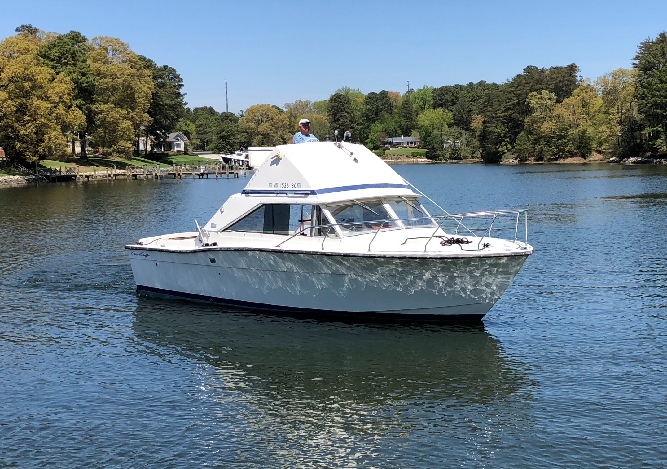 Check out this 1972 CHRIS - CRAFT Commander Express on Boattrader com