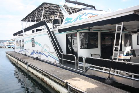 1997 Sumerset Houseboats Custom Widebody