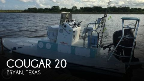2010 Cougar South Bay 200 2010 Cougar 20 for sale in Bryan, TX