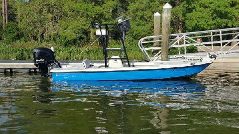 2003 Action Craft 1802 Coastline Flats