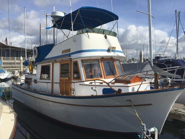 1977 Chb Trawler 34 34 Foot 1977 Motor Boat In San Diego