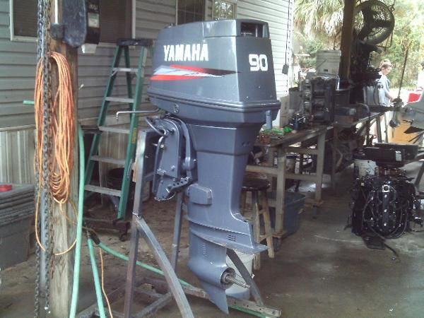 Used 90 hp outboards for sale autos post for 90 hp yamaha outboard motor for sale