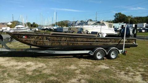 2016 Seaark FXJT 2472 2016 Sea Ark FXJT 2472 - Boat & Trailer