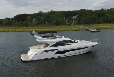 2017 Sunseeker 68 Sport Yacht Sunseeker profile