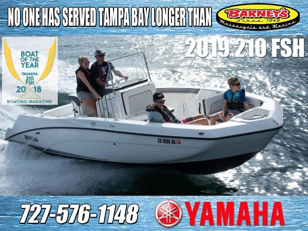 Check out this 2019 YAMAHA 210 FSH on Boattrader com