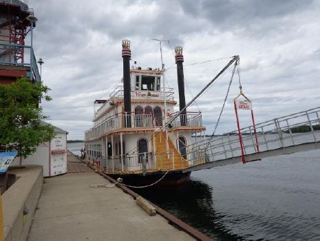 1985 Custom Steel Stern Paddle Wheel Cruise Ship