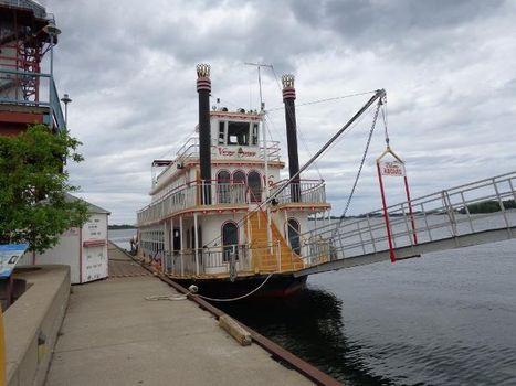 1985 Custom Steel Stern Paddle Wheel Cruise Ship