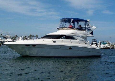 1999 Sea Ray 400 Sedan Bridge Port Profile