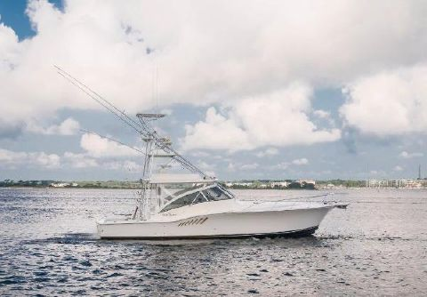 2004 Albemarle 410 Express Starboard Profile