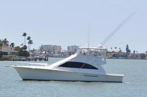 2001 Ocean Yachts Convertible Super Sport Profile