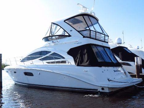 2013 Sea Ray 45 Sedan Bridge White Hull profile