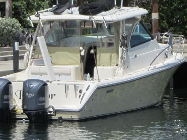 Pursuit new and used boats for sale in florida for Key largo party boat fishing