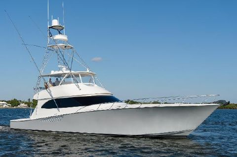 2013 Viking Convertible Starboard Side